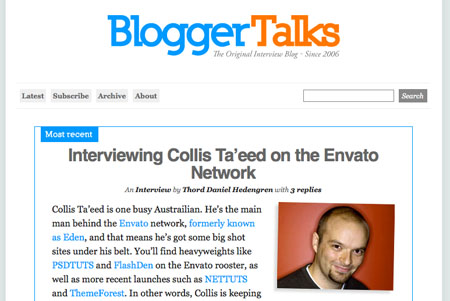 BloggerTalks