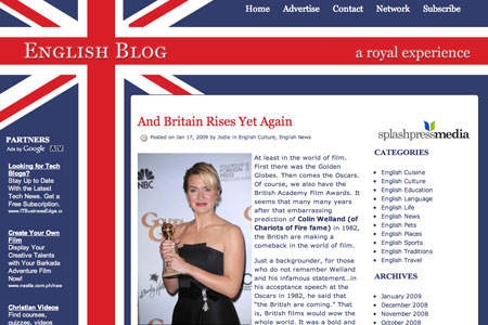 English Blogs