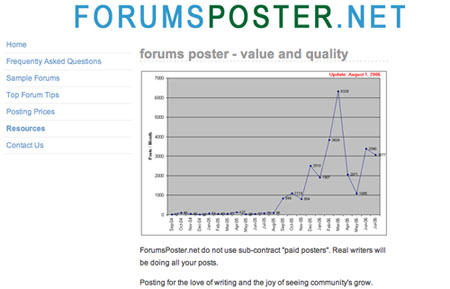 Forums Poster
