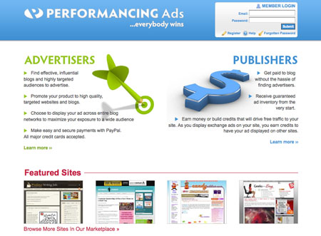 Performancing Ads