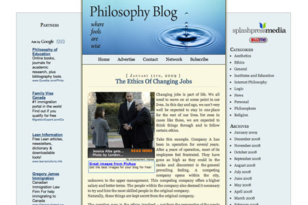 Philosophy Blog