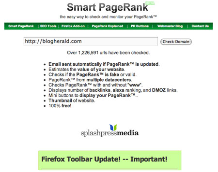 Smart PageRank