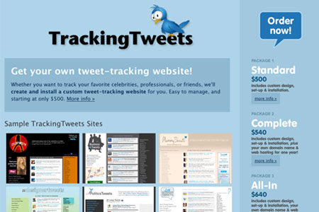 tracking-tweets