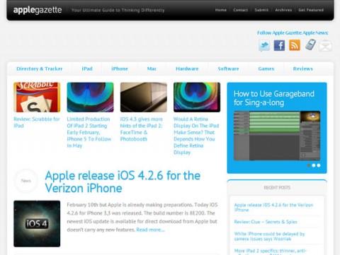 Apple Gazette redesign