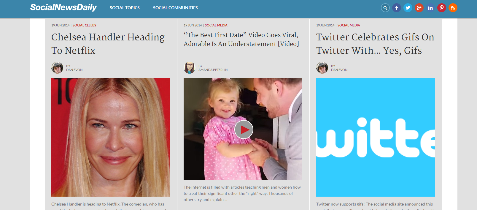 Social News Daily - Examining And Reporting On The World Of Social Media