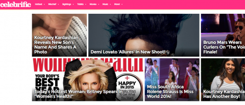Celebrific - celebrity news, photos and gossip