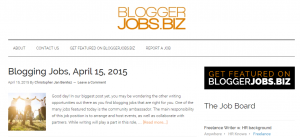 Blogger Jobs – All the latest blogging and freelance writing jobs